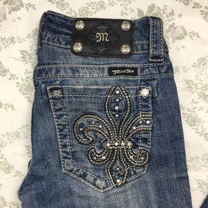 Miss me jeans boot sz 25 x 31